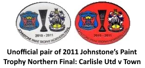 2011 BADGE Carlisle pair
